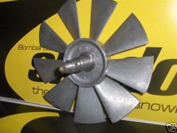 SNOWMOBILE VINTAGE NOS SKI DOO ROTAX ENGINE COOLING FAN 997-8641-50