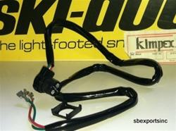 1978  ski doo rotax headlight dimmer switch kimpex 01-119-03  VINTAGE SNOWMOBILE SKI DOO ELAN HEADLIGHT DIMMER SWITCH 01-119-03