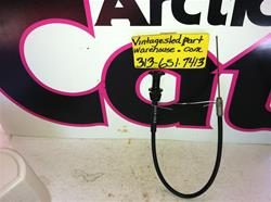 ARCTIC CAT CHOKE CABLE 0109-563 SNOWMOBILE VINTAGE ARCTIC CAT CHOKE CABLE 0109-563 KOHLER HIRTH SACHS ENGINE SLED