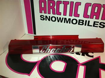 ARCTIC CAT CHEETAH TAILLIGHT LENNS SNOWMOBILE VINTAGE ARCTIC CAT TAILLIGHT LENN'S HIRTH SACHS KOHLER ENGINE SLEDS
