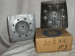 HIRTH ENGINE HEAD 202A4 SNOWMOBILE VINTAGE PARTS MOTO-SKI SNO-JET BOA-SKI