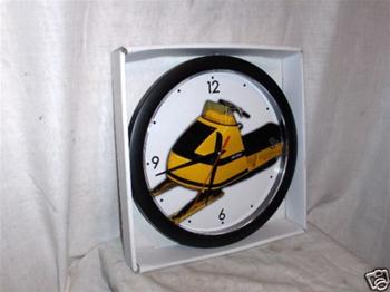 SNOWMOBILE VINTAGE SKI DOO 1970 BLIZZARD BUBBLE NOSE CLOCK ROTAX OLYMPIC BOMBARDIER