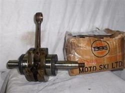 MOTO-SKI SLED ENGINE CRANK 250M SNOWMOBILE VINTAGE