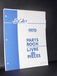1970 SNO JET MODELS  PARTS MANUAL HIRTH SACHS KOHLER JLO