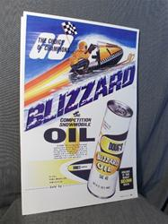 1972 ski doo blizzard 776 oil sled rotax poster snowmobile vintage reproduction parts