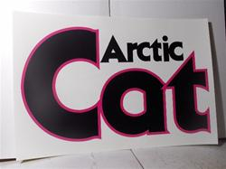 arctic cat  the cat sled dealer poster sign jlo
