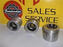 ski doo rotax bombardier clutch bearing holders 504-0101 rotax snowmobile vintage parts bombardier