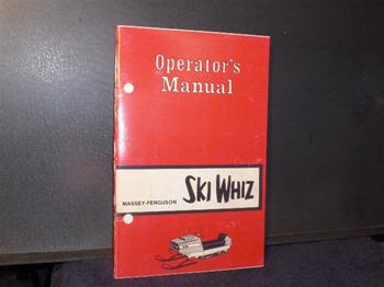 snowmobile vintage ski whiz jlo rockwell engine owners manual