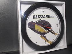 1972 ski doo  blizzard  797  clock skidoo   snowmobile vintage reproduction parts sleds