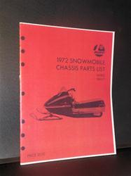 1972 rupp chassis parts list snowmobile vintage