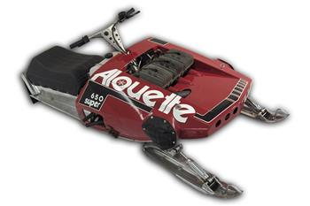 1973 ALOUETTE SUPER POSTER 650 SACHS ENGINE VINTAGE SLEDS SNOWMOBILE