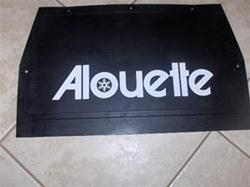alouette sled snow flap sachs engine