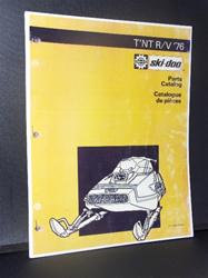 1976 SKI DOO RV tnt sled parts manual