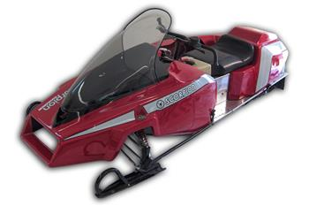 1982 SCORPION SNOPRO POSTER SNOWMOBILE VINTAGE SLEDS