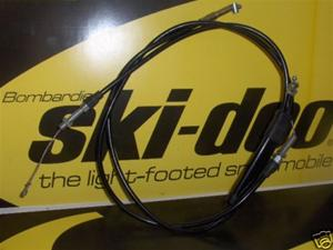 snowmobile vintage nos ski doo rotax engine sled throttle cable 414-44139-00