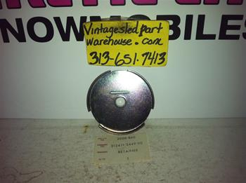ARCTIC CAT RECOIL RETAINER 300-860 VINTAGE SNOWMOBILE KAWASAKI RECOIL RETAINER 31341-3449.00
