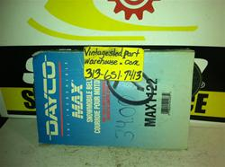 DAYCO MAX BELT MAX1122 VINTAGE SNOWMOBILE DAYCO MAX 1122 DRIVE BELT