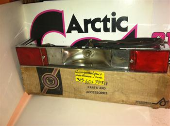 ARCTIC CAT TAIL LIGHT 0116-670 VINTAGE SNOWMOBILE PANTHER TAIL LIGHT 0116-670