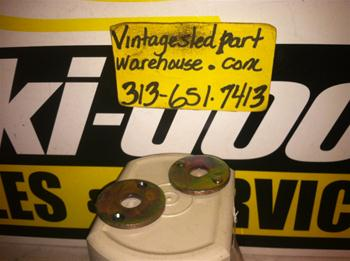 VINTAGE SKI DOO SUSPENSION TUNNEL WASHERS 501-0379 VINTAGE SNOWMOBILE BLIZZARD TUNNEL WASHERS 501-0379 ROTAX SKIDOO SLEDS