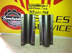 SKI DOO TUNNEL SUPPORTS 517-1834  VINTAGE SNOWMOBILE BOMBARDIER TUNNEL SUPPORTS 517-1834