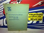 SACHS SA2-290 ENGINE BOOK VINTAGE SNOWMOBILE SACHS 4074.6E BOOK SA2-290 SA2-340