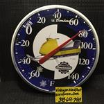 VINTAGE SKI DOO OLYMPIQUE SLED THERMOMETER ROTAX ENGINE SNOWMOBILE 1963 SKI DOO SLED THERMOMETER  BOMBARDIER CHALET