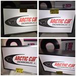 VINTAGE ARCTIC CAT DEALER PANTHER LIGHTED SIGN  VINTAGE ARCTO POLAR DEALER LIGHTED SIGN KOHLER FOUR STROKE ENGINE SNOWMOBILE