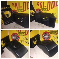 1969 ski doo rotax air box 370 oppossed  alpine snowmobile vintage 414-0171-00 0040710 414 BOMBRDIER SNOWMOBILE