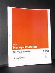 1973 harley davidson sled parts book