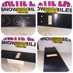arctic cat hirth engine sled dash plate 106-105 panther vintage arctic cat jlo 760 engine snowmobile