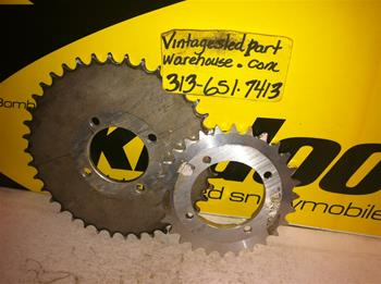 SKI DOO ROTAX MINI Z SPROCKETS VINTAGE SNOWMOBILE MINI Z GEARS