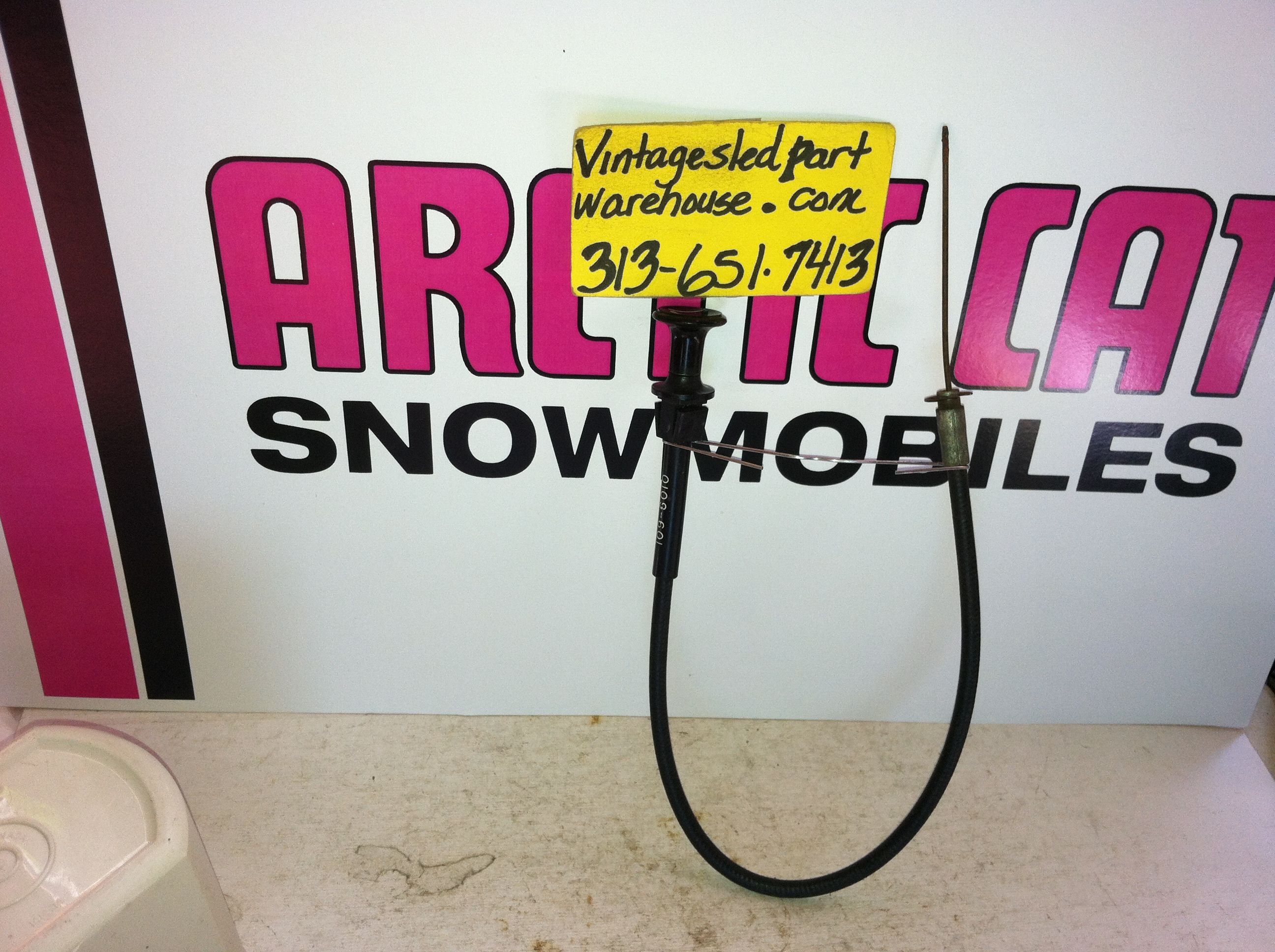 arctic cat choke cable 109-6010 snowmobile vintage arctic cat choke cable  kohler hirth sachs engine sled