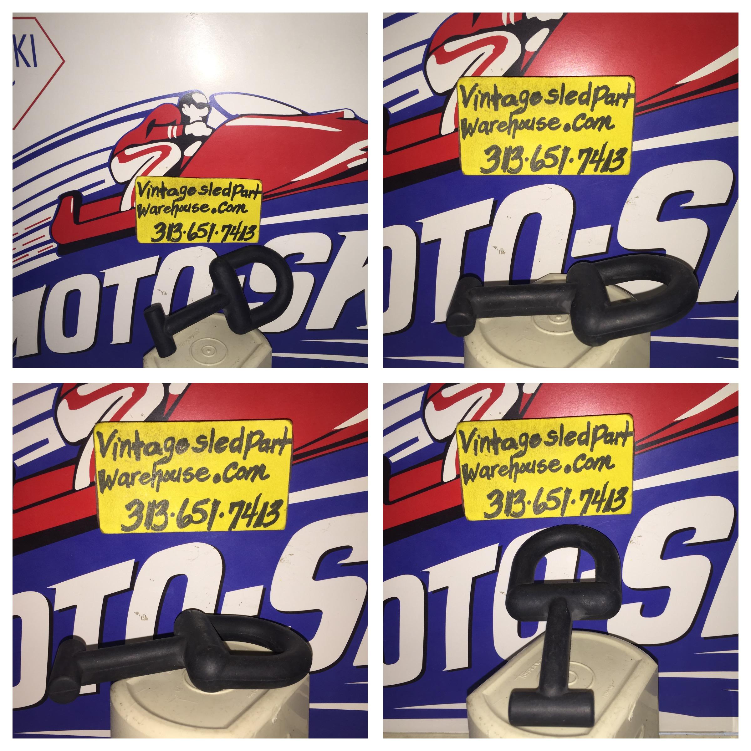 VINTAGE SKI DOO 245 RV HOOD D RING ROTAX ENGINE SLED MOTO