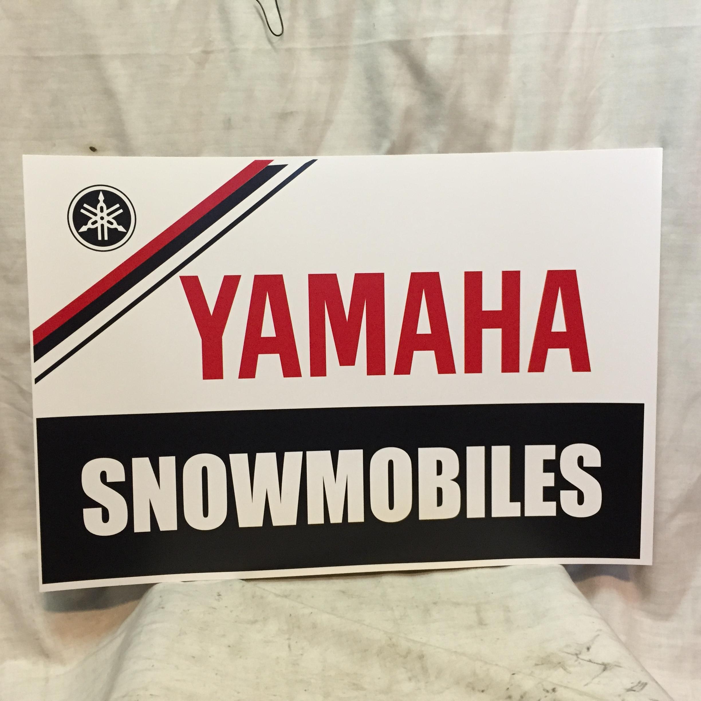 DEALER SIGN POSTER SNOWMOBILE VINTAGE SKI DOO POLARIS ARCTIC CAT ...
