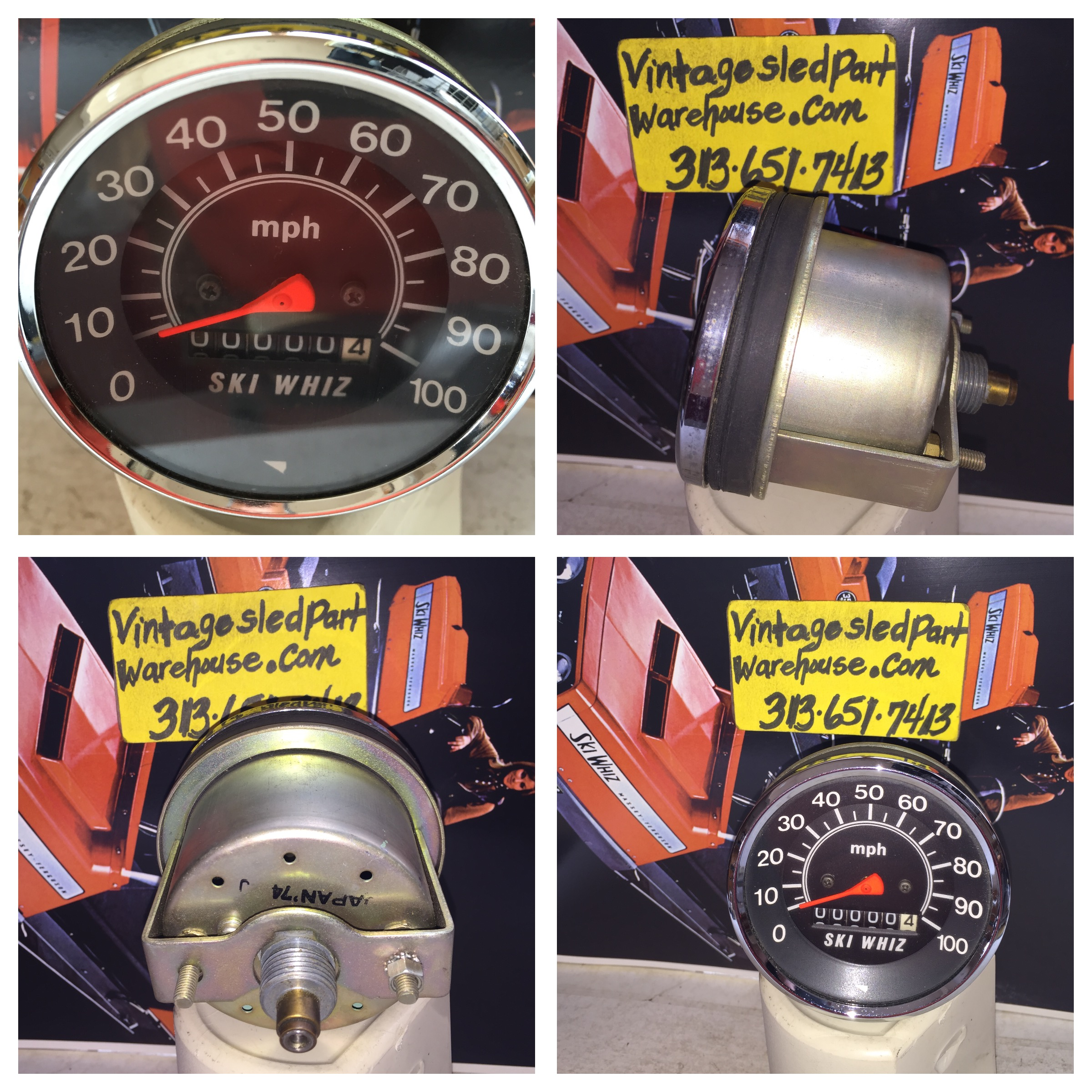 Ski whiz snowmobiles for sale - Vintage Massey Ferguson Ski Whiz Speedometer Vintage Ski Whiz Speedometer Storm Sst Whirlwind Jlo Rockwell Engines Vintage Snowmobiles