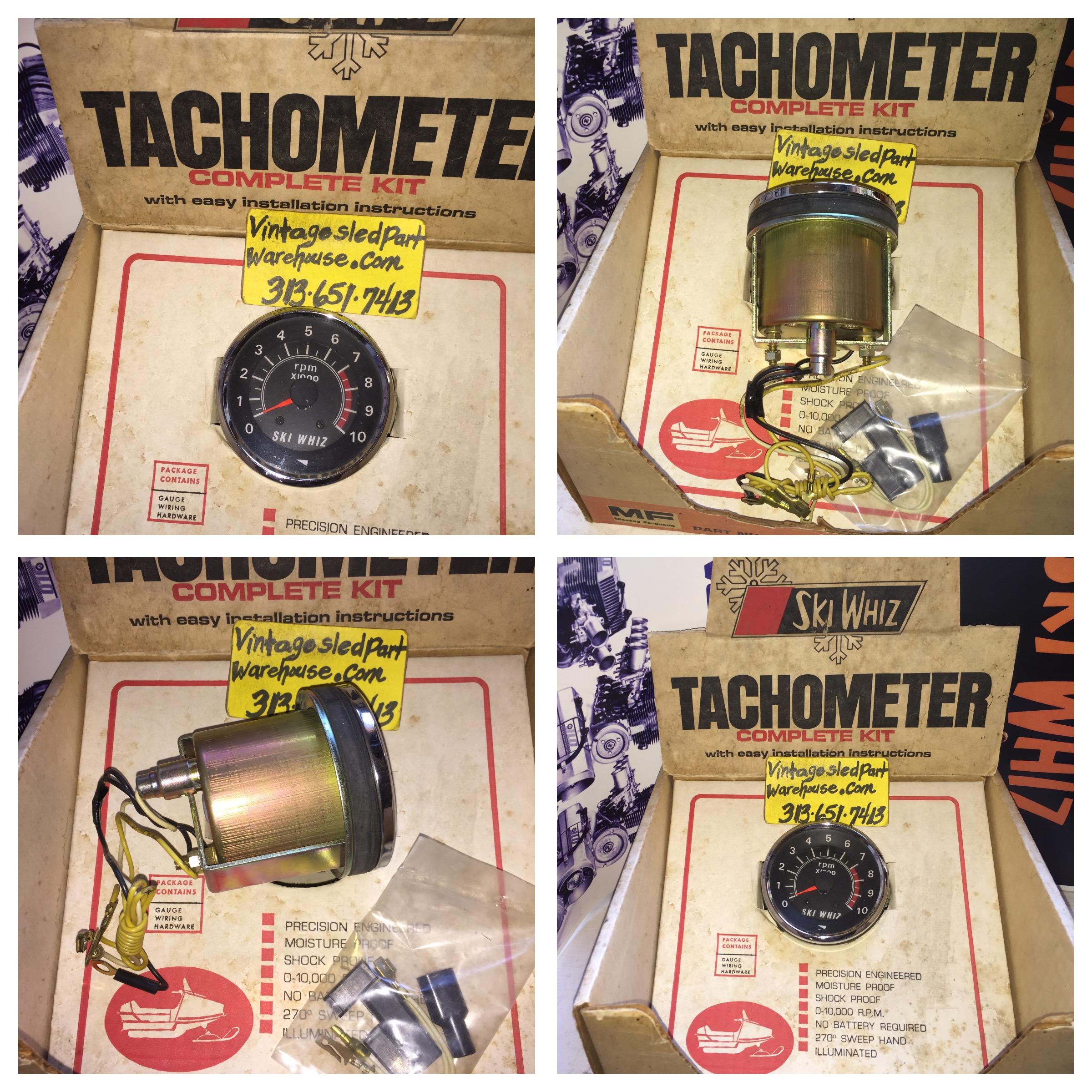 Ski whiz snowmobiles for sale - Vintage Ski Whiz Snowmobile Tachometer Rockwell Engine Massey Ferguson