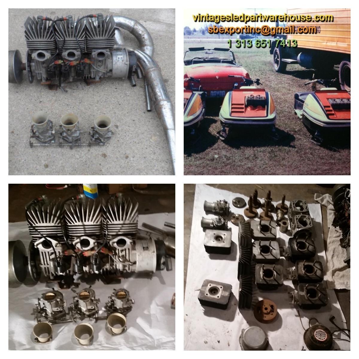 KOHLER 650 STARBURST ENGINE K 645 3 SS CASE'S SNOWMOBILE VINTAGE KOHLER K  645 3 SS ENGINE CASE'S SPEED WAY BOA-SKI BAR SCORPION STINGER